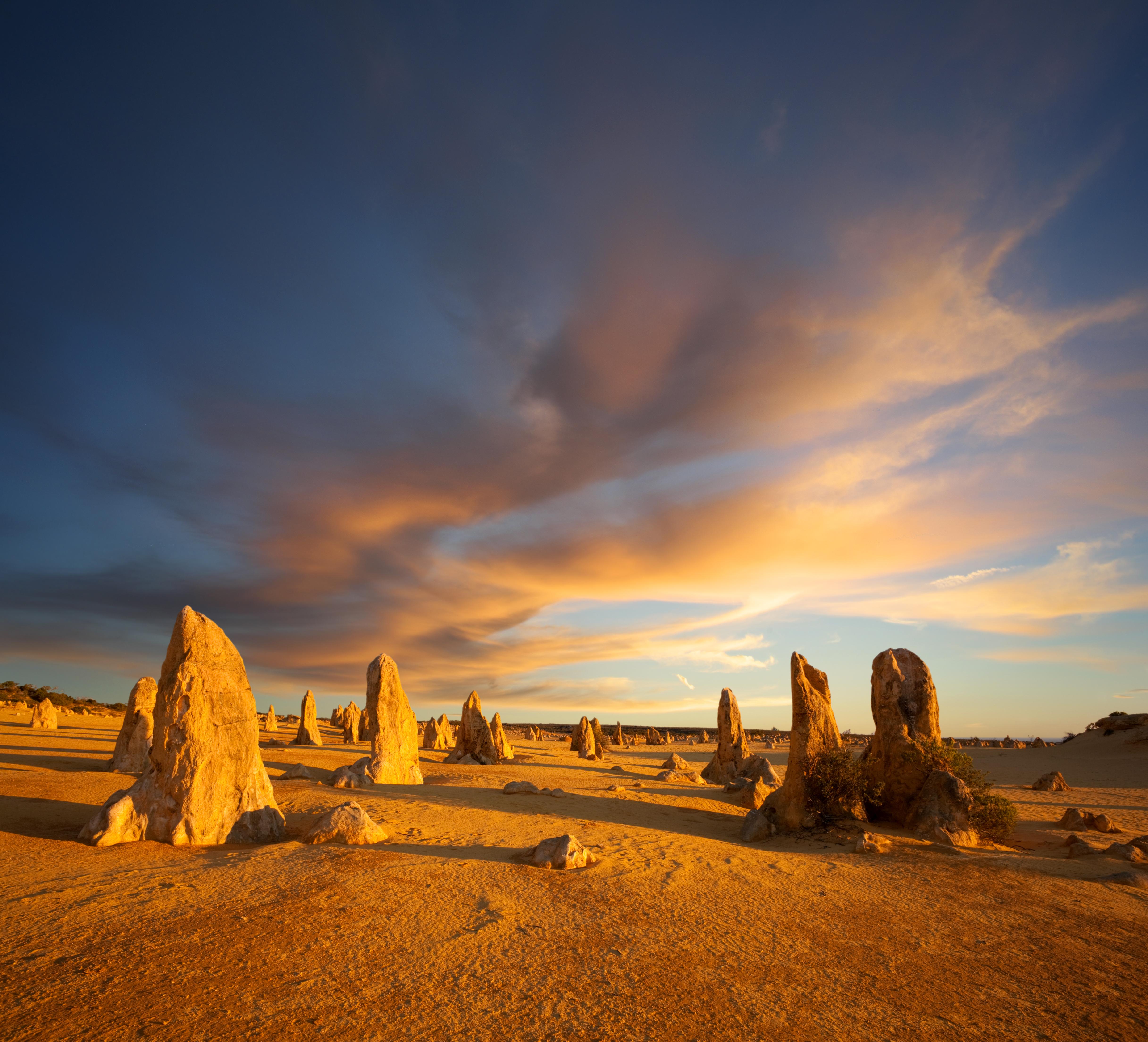 An image of Pinnacles in Western Australia