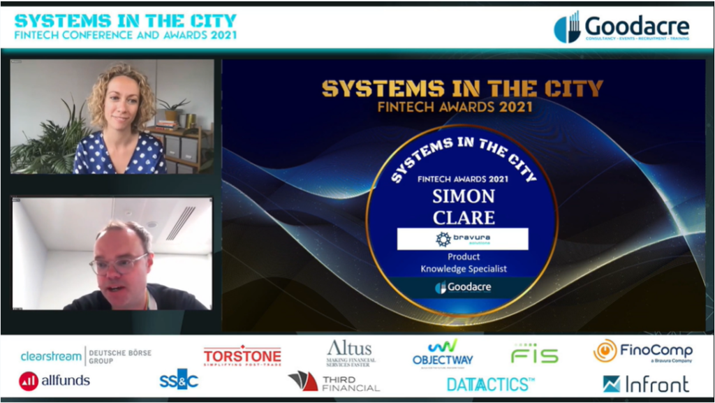 """Simon Clare scoops individual award for """"Product Knowledge ..."""